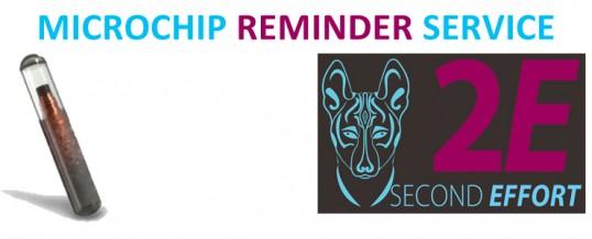 Basenji Microchip Reminder service