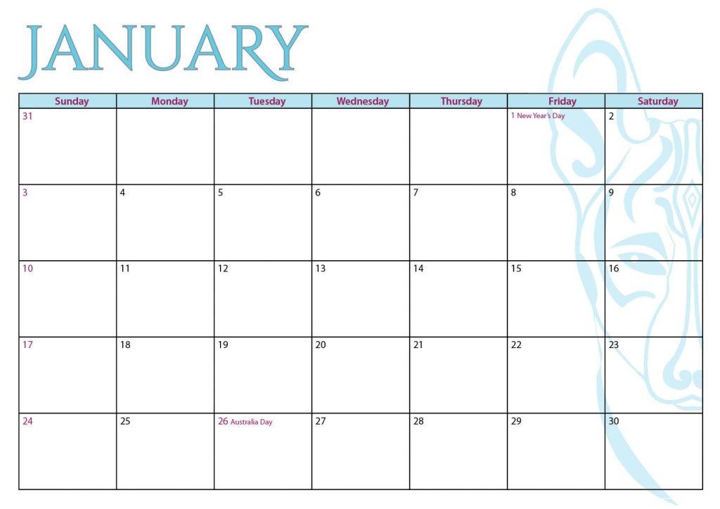 Basenji Calendar 2021