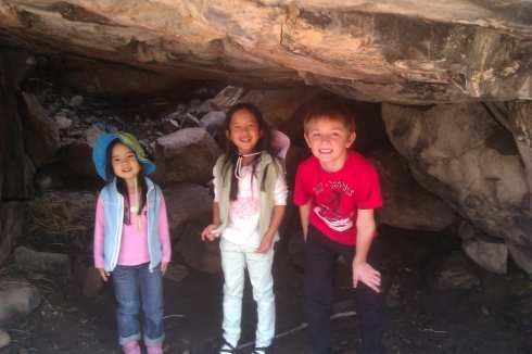 Inside Devils Cave