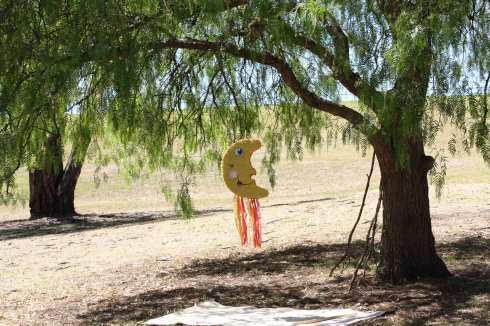 The piñata - not a Basenji but still great fun!