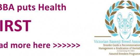 Basenji Health