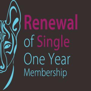 Renew Single Membership